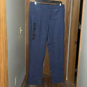 Banana Republic Straight Leg Mid-Rise Pants